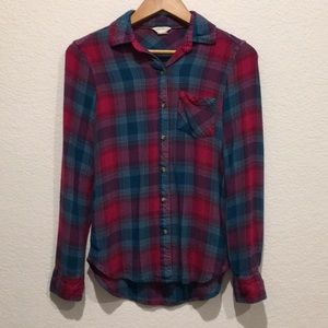 Aéropostale Fitted Flannel, Size XS